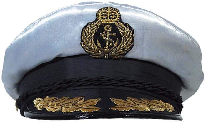Deluxe Ship Captain S Cap