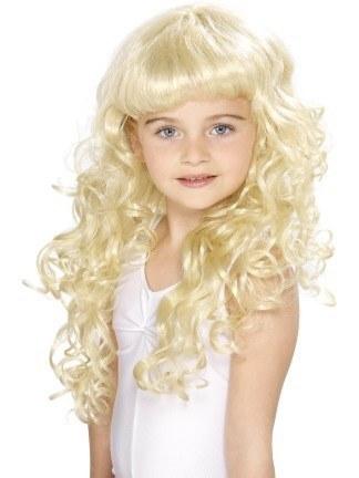 d4d55c18c6bf1d Girls Princess Wig - Blonde