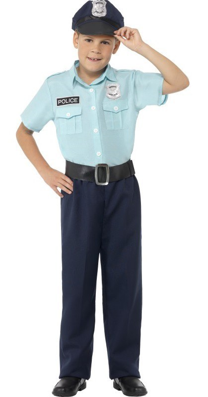 POLICE OFFICER KIDS COSTUME ...  sc 1 st  The Costume Shop & Police Officer Costume - Kids