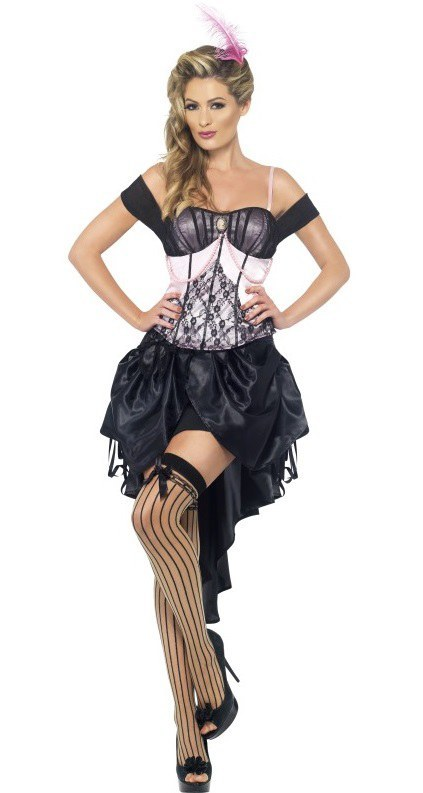 ladies burlesque costume