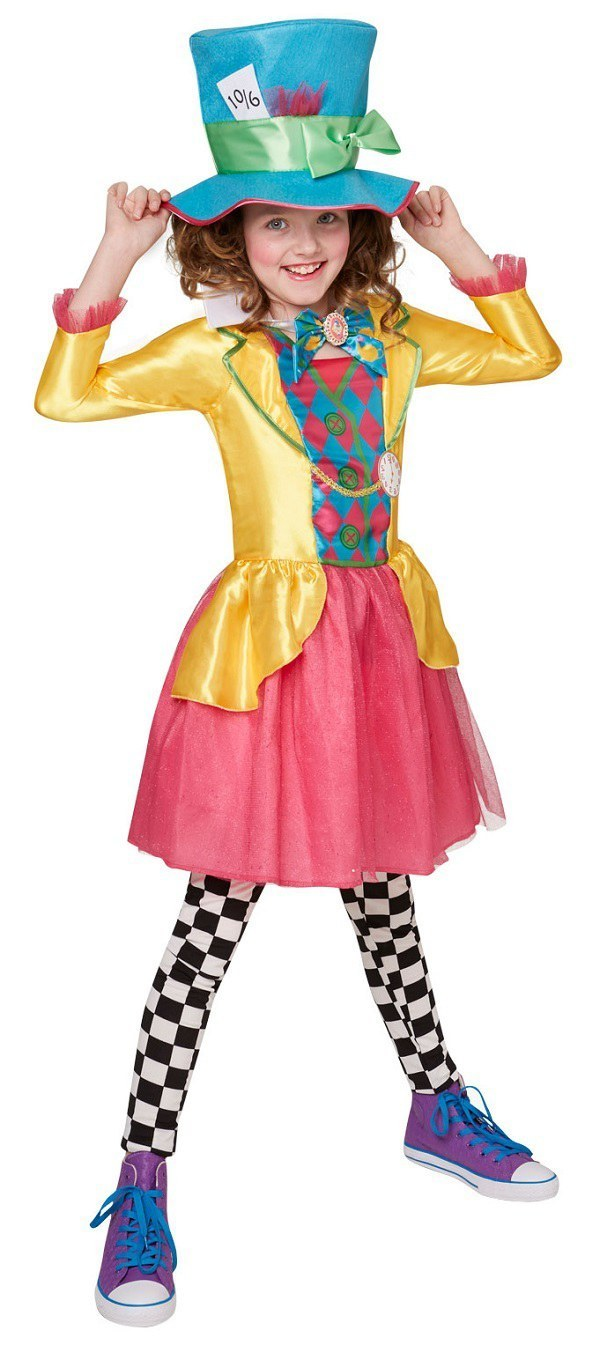 Mayhem Mad Hatter Juniors Costume