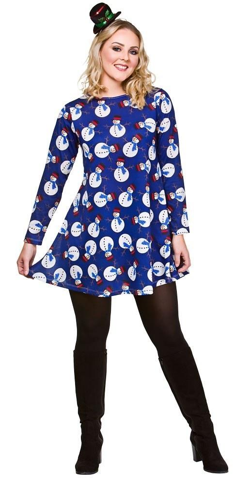 Snowman Christmas Dress