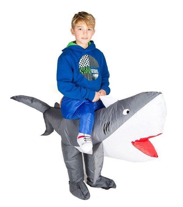 how to make shark boy costume