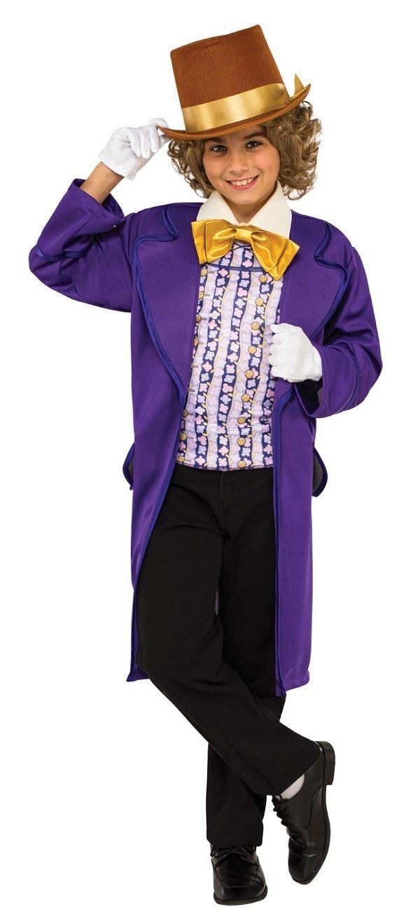 Kids Willy Wonka Costume