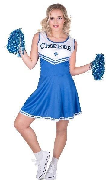 b427ecfba78 Blue Cheerleader Costume