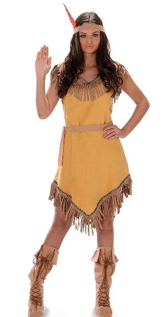 Indian Girl Plus Size Costume