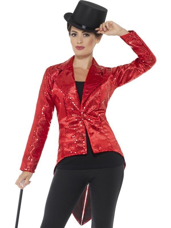 3bea4d2f red Sequin Jacket - Ladies ...