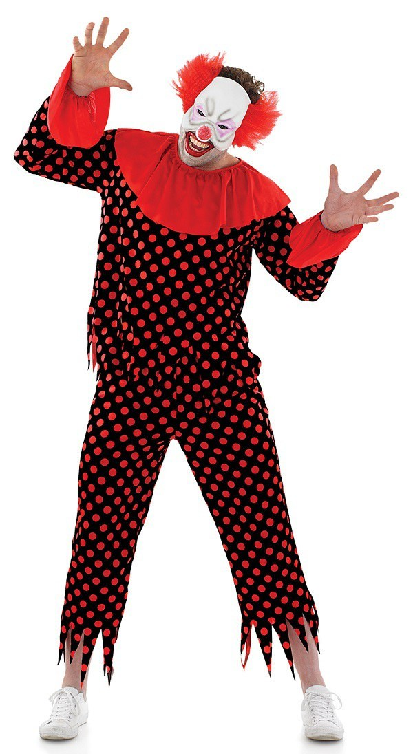 Halloween Costumes Scary Men.Scary Male Clown Costume
