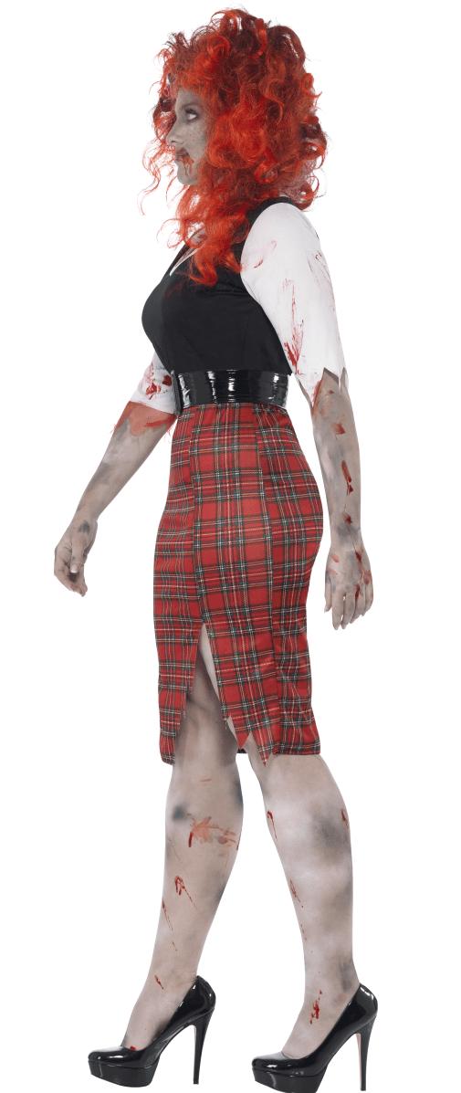 Plus Size Ruffle School Girl Costume ML-25080Q