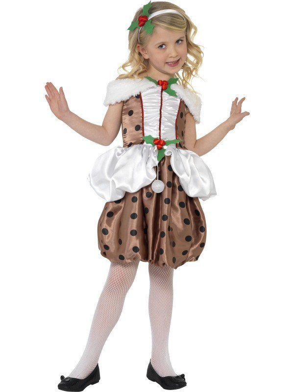 a49395786 Kids Christmas pudding costume