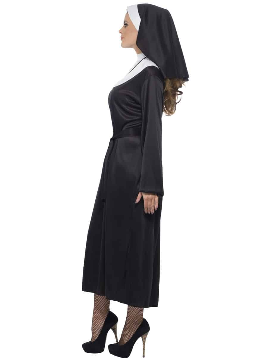Budget Nun Fancy Dress Costume