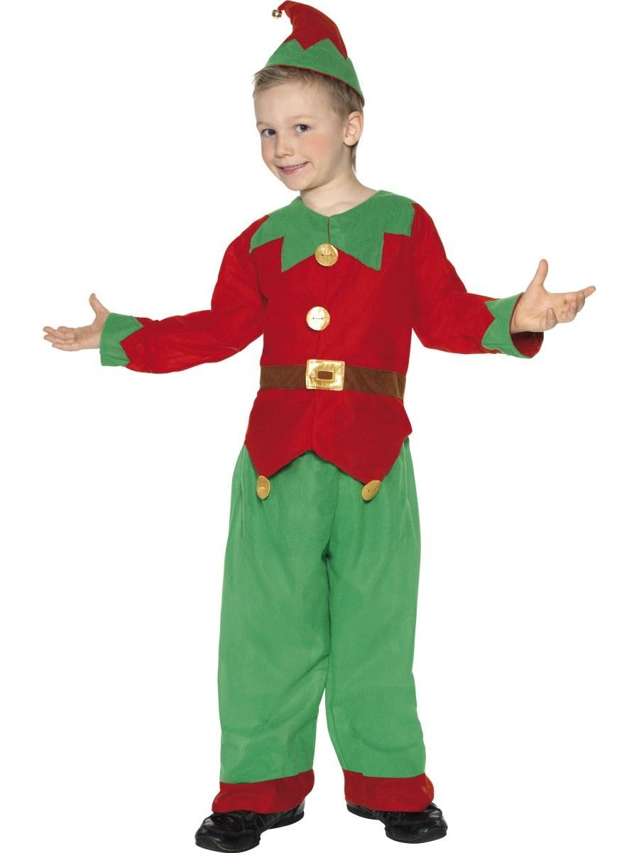 Christmas Elf Costume.Kids Elf Unisex