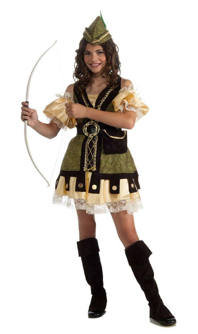 Robyn Hood Kids Costume  sc 1 st  The Costume Shop : kids viking costumes  - Germanpascual.Com