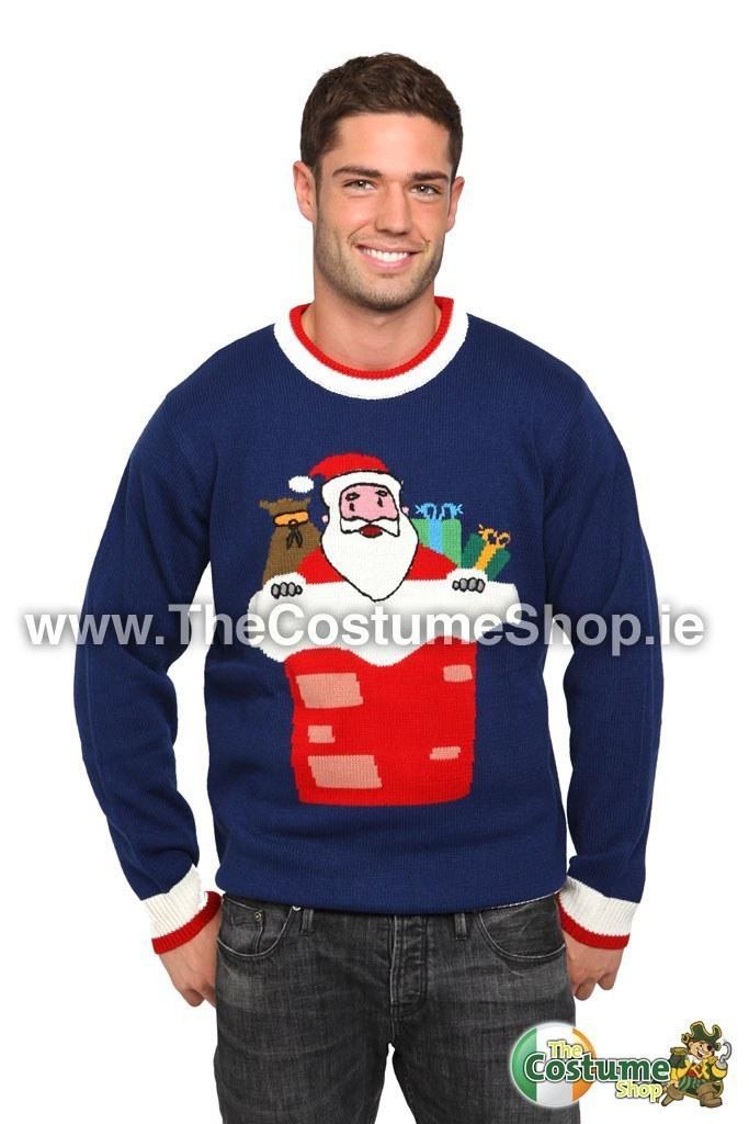Christmas Jumpers.Christmas Jumper Santa