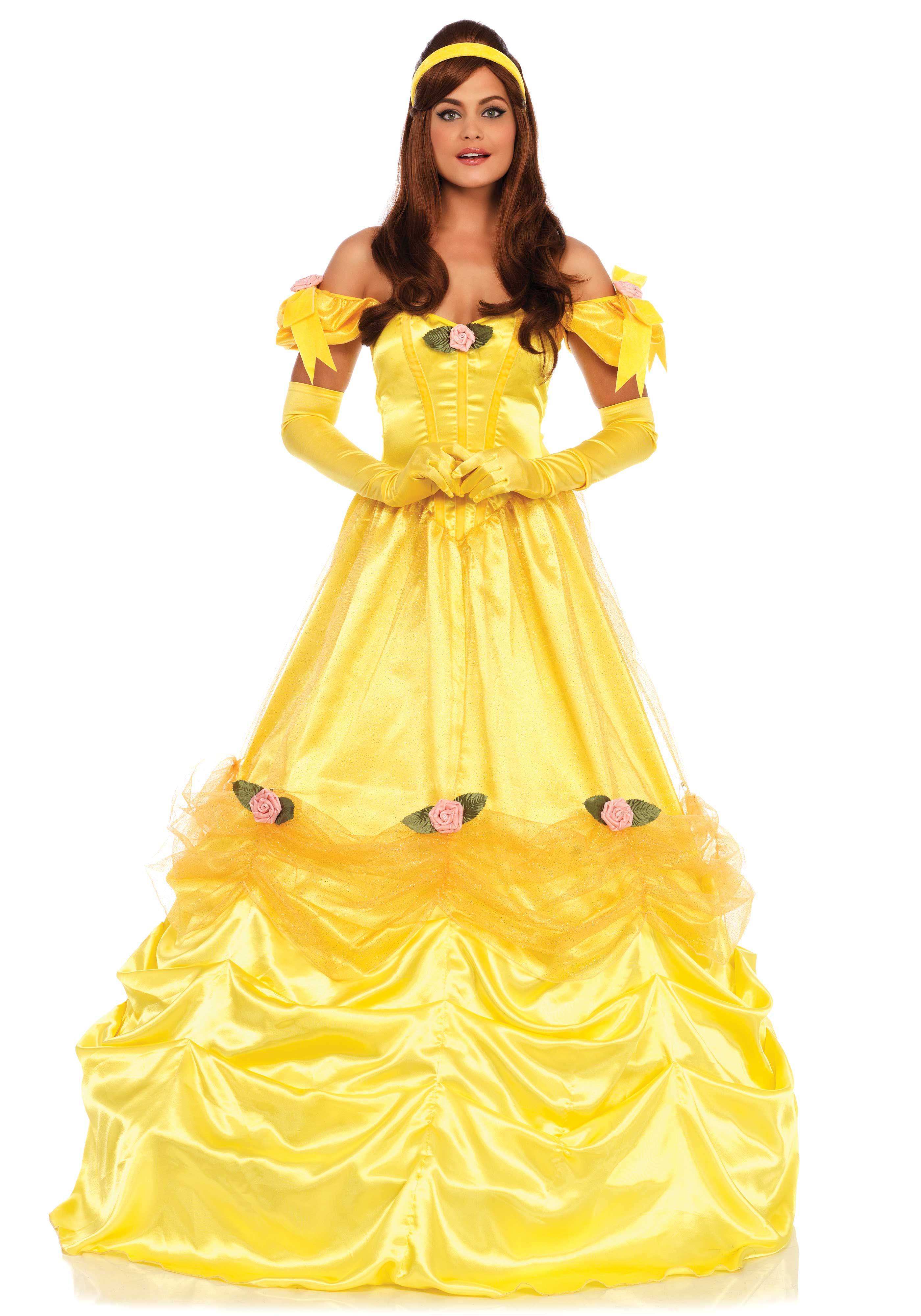 Deluxe Belle Of The Ball Costume
