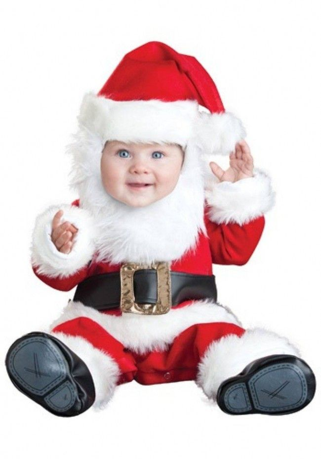 76b46547706cc Deluxe Baby Lil Santa Costume