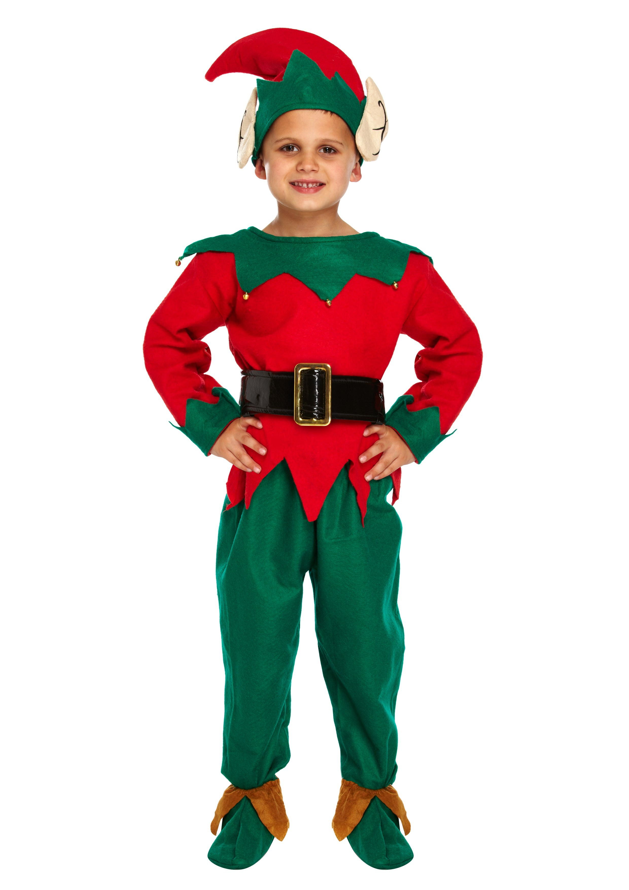 Unisex Kids elf costume  sc 1 st  The Costume Shop & Christmas Costumes - Santa Suits Mrs Claus and Elves