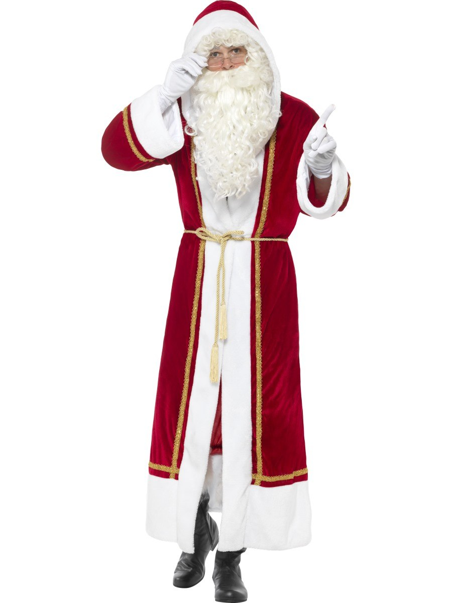 Deluxe Santa Claus Costume a192a8653