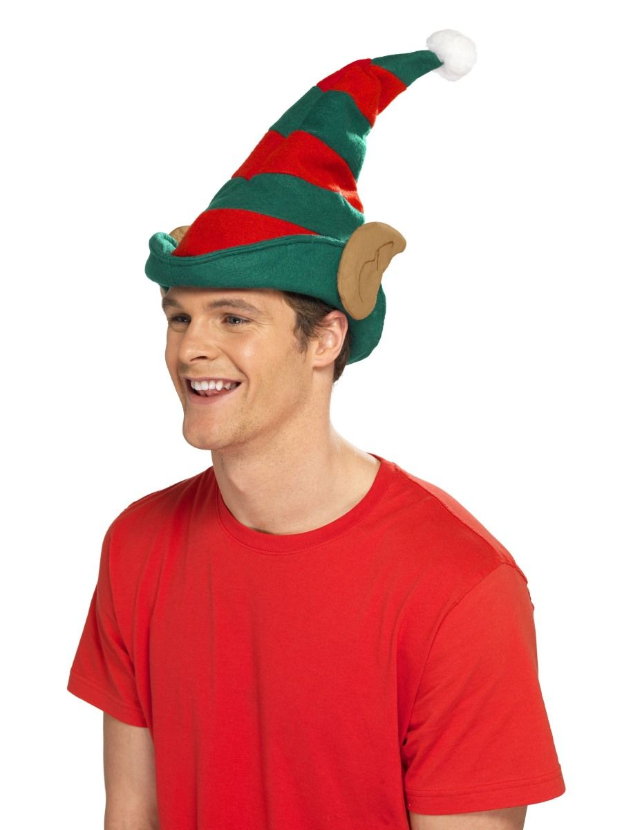 a35906237dc22 Elf Hat - red and green