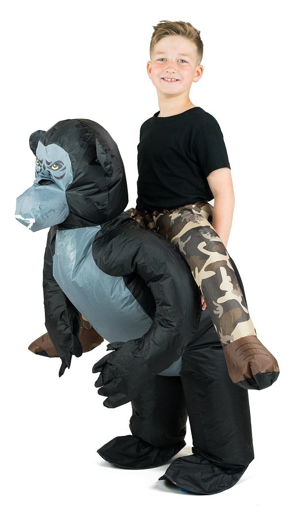 source inflatable gorilla costume kids