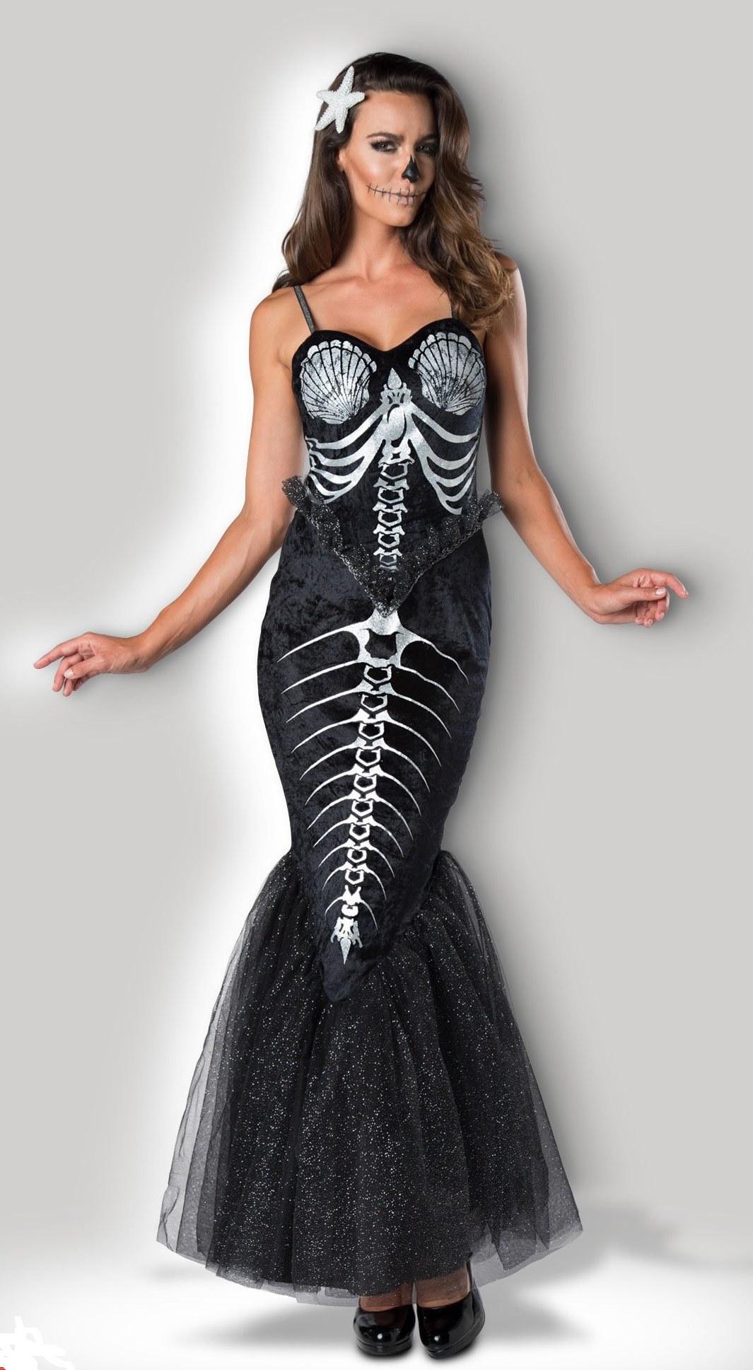 Ladies Skeleton Mermaid