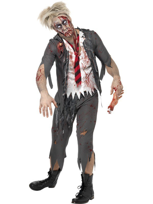 High School Horror Zombie School Boy Costume fbf2033bc896