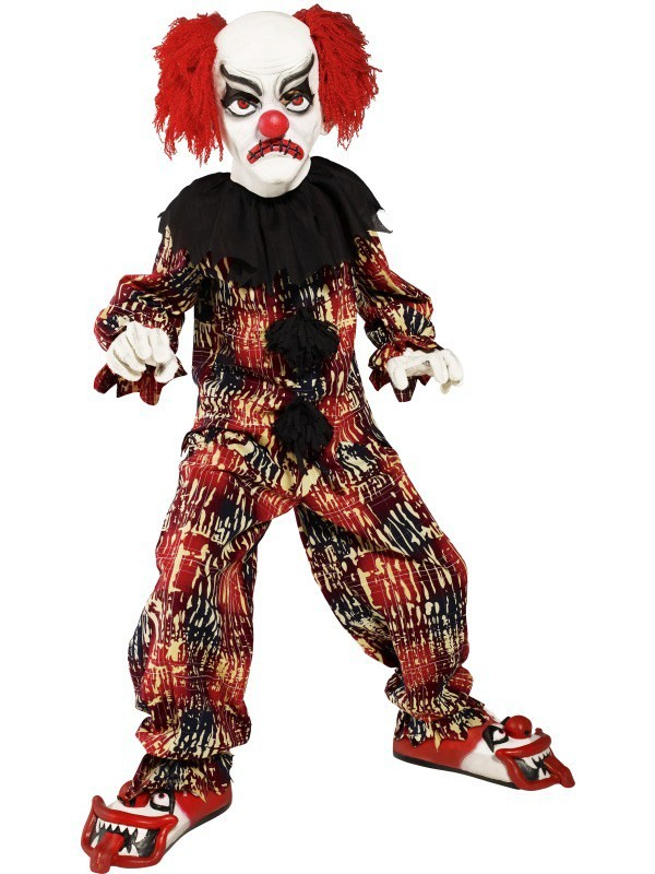 gallery for gt scary clown halloween costumes for kids