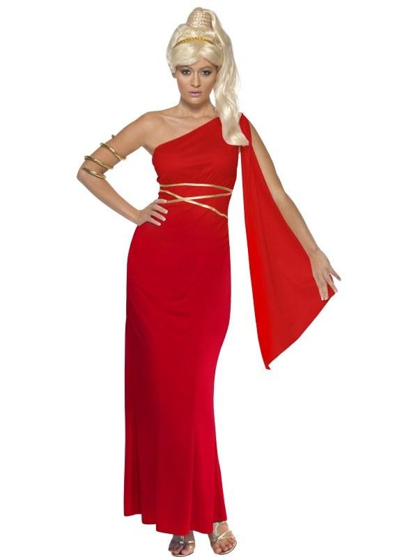 Aphrodite Costume - Red