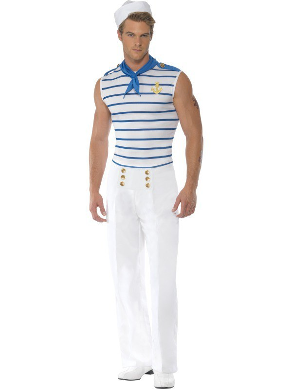 Mens French Sailor Costume