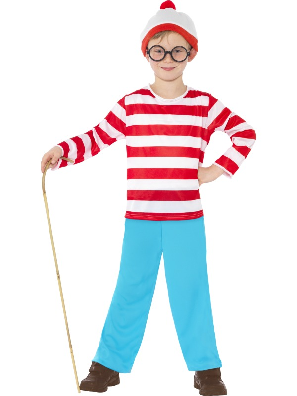Original Costumes For Kids.Kids Where S Wally Costume
