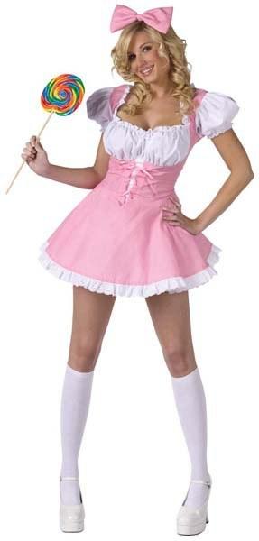 Ladies Baby Doll Costume