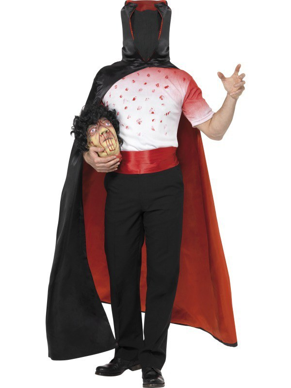 Costume Halloween Man.Headless Man Costume