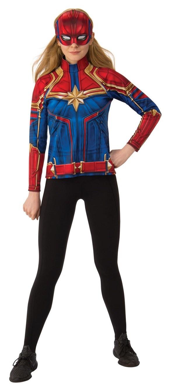 Ladies Captain Marvel Costume Captain marvel womens jumpsuit girls cosplay costume printing bodysuit superhero. captain marvel costume