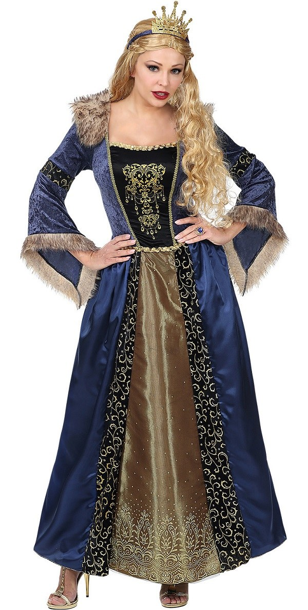Plus Size Medieval Queen