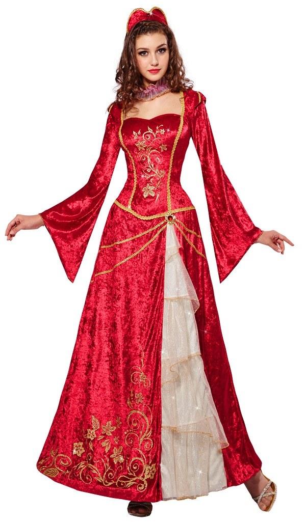 Royal Renaissance Maiden Beauty Child Costume