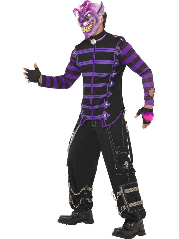 adult cheshire cat costume. Black Bedroom Furniture Sets. Home Design Ideas