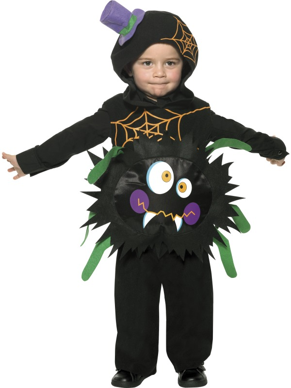 Crazy spider kids costume