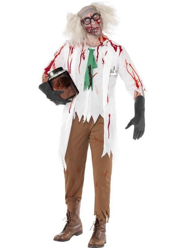 Adult Zombie Science Teacher Costume