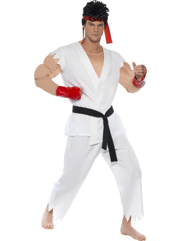 Ryu Street Fighter Costume  sc 1 st  Meningrey & Kids Street Fighter Costume - Meningrey