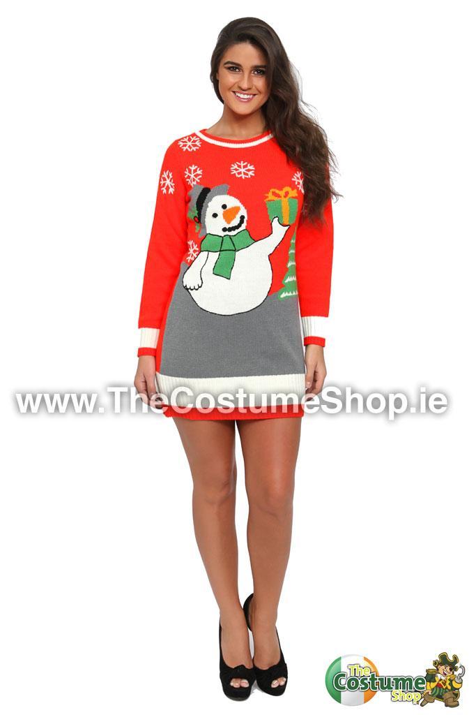 Ladies Christmas Jumpers Dress