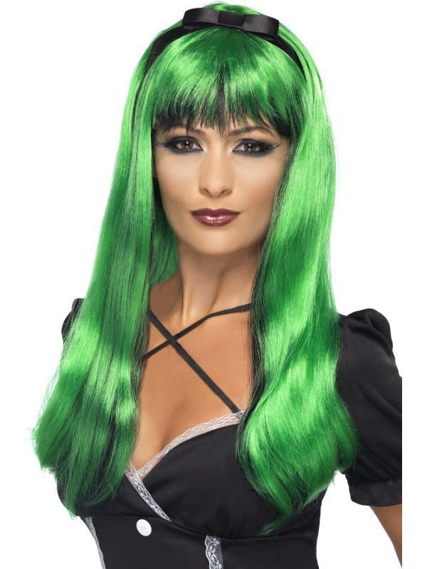Green Bewitching Wig