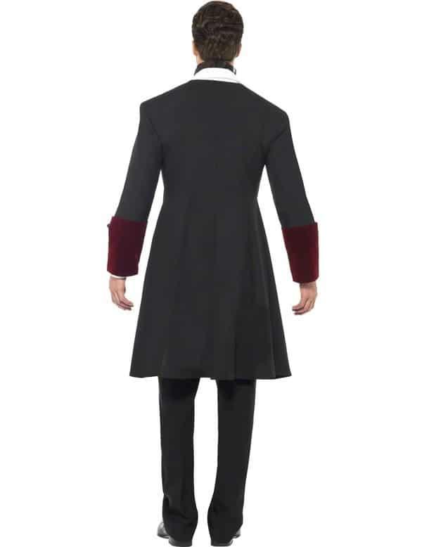 Gothic Vampire Costume Side Back