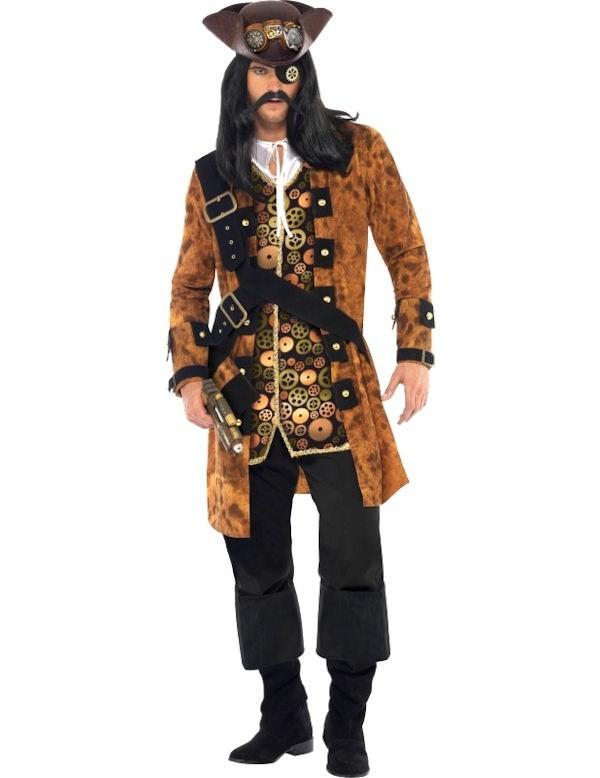 Steampunk Pirate Costume Men