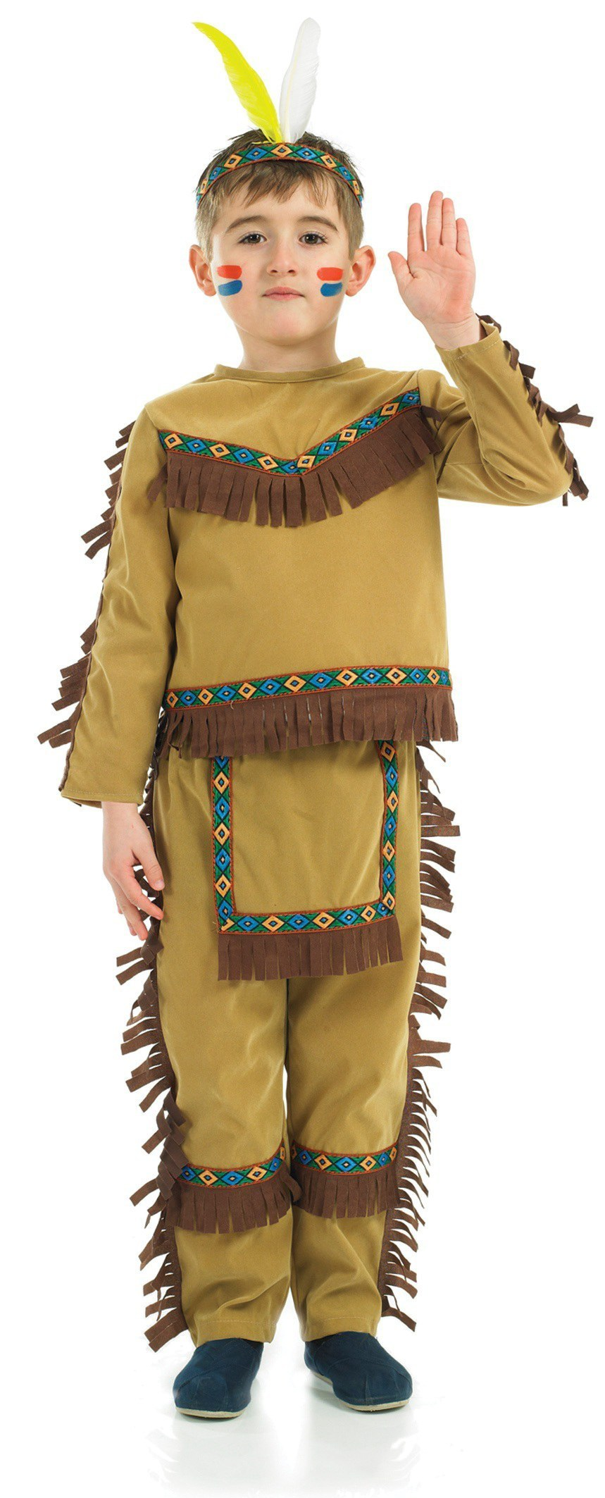Kids Indian Chief Boy costume  sc 1 st  The Costume Shop & Kids Indian Chief Costume