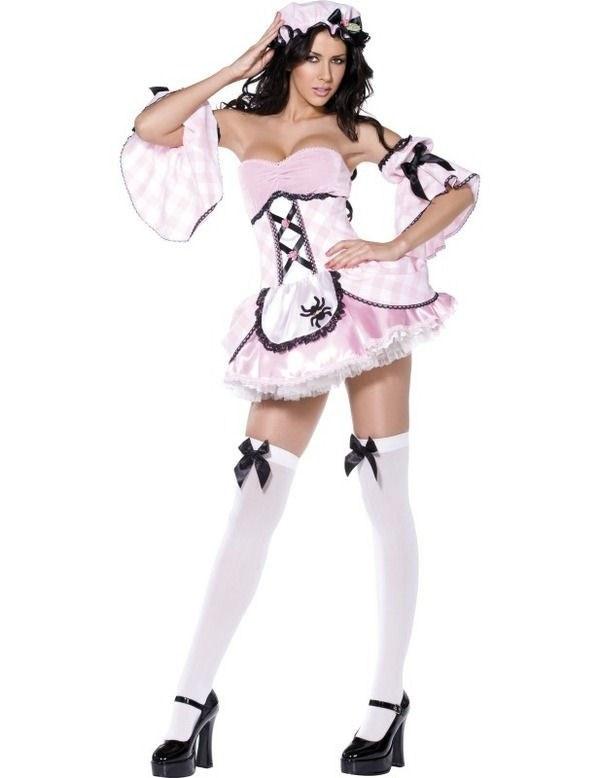 Fever hot little miss muffet costume