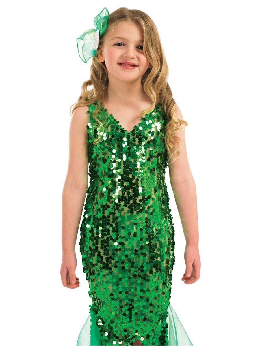 Kids Green Mermaid Costume
