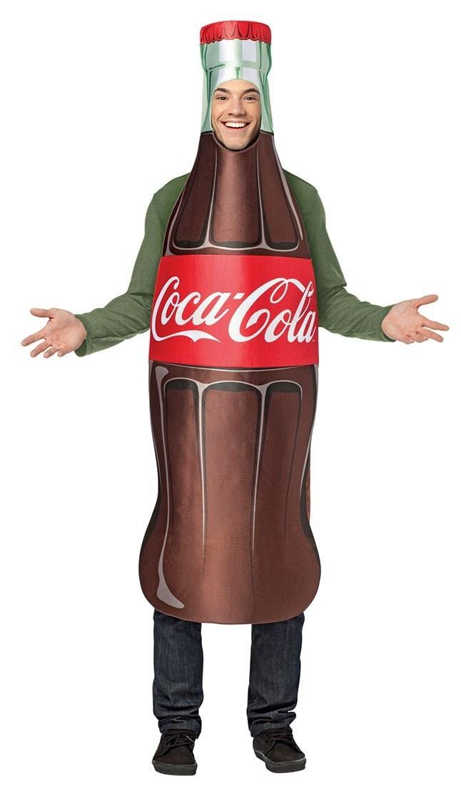Adult Coca Cola Bottle Costume