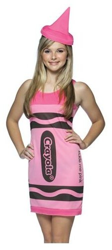 Crayola Tickle Me Pink Costume - Teen
