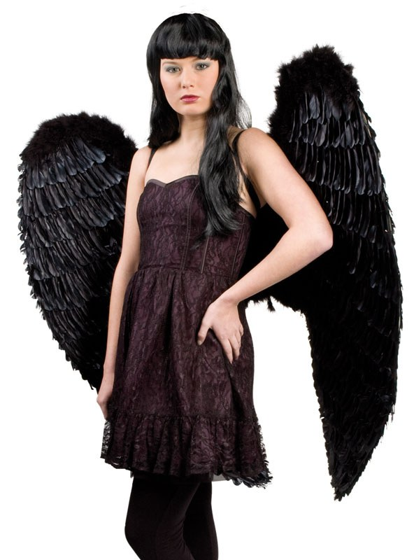 Black Angel Wings Costume | www.imgkid.com - The Image Kid ...