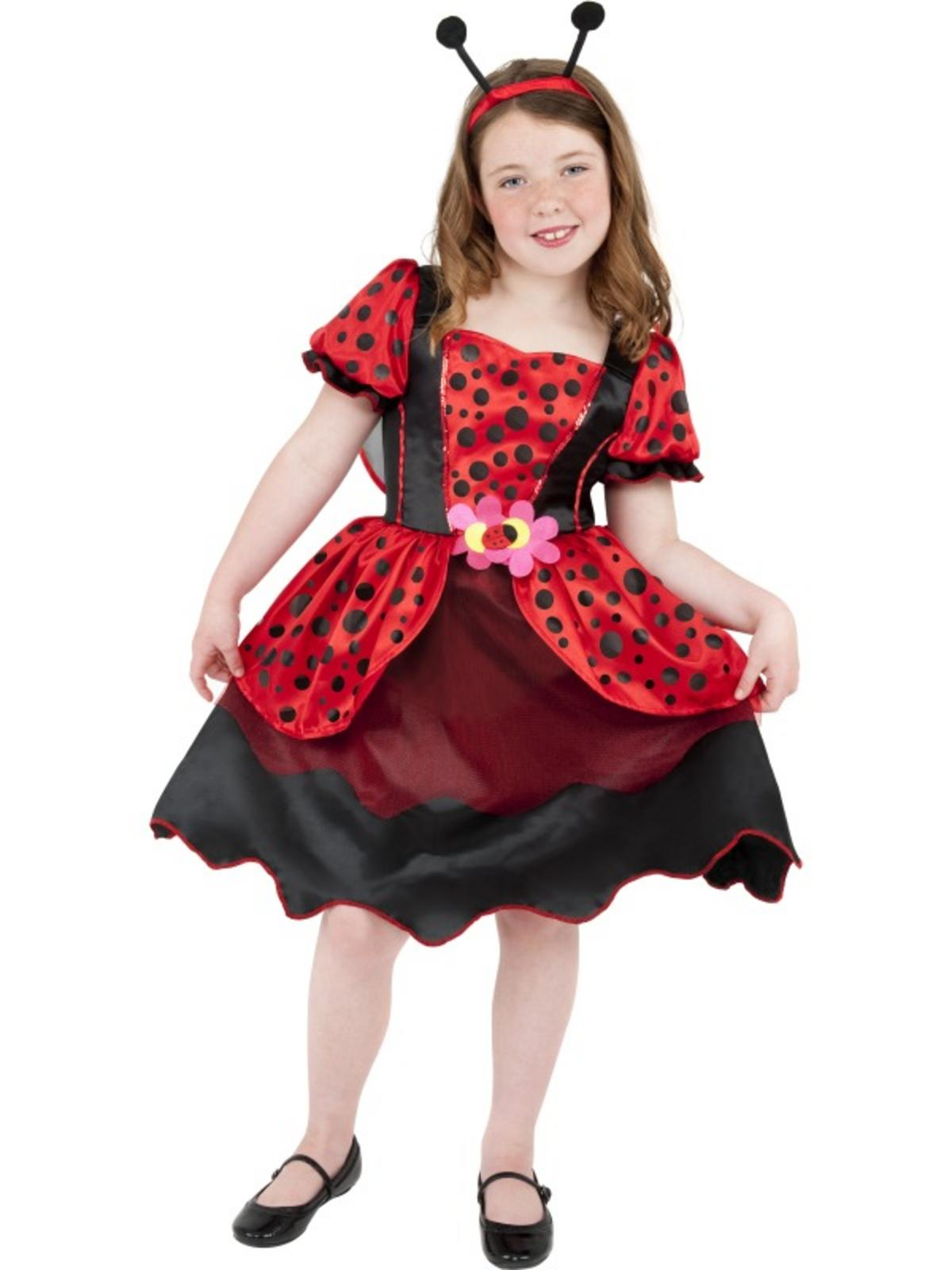 Little lady bug costume child